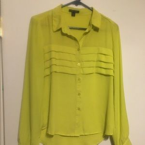 Timing Chartreuse Blouse 👚
